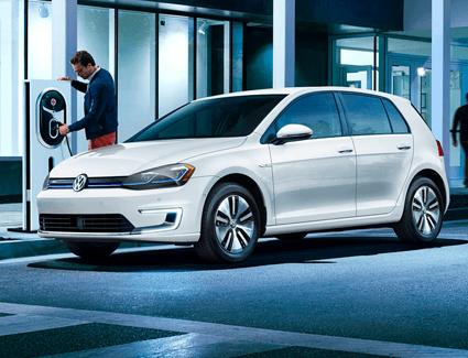2018 VW e-Golf's Exterior