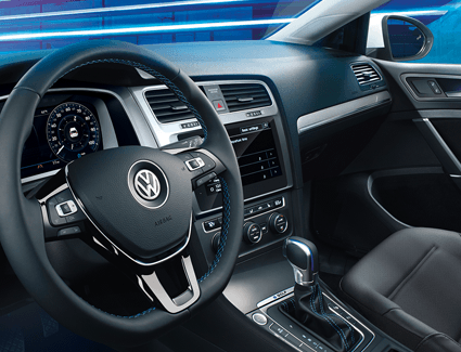 2019 VW e-Golf's Interior