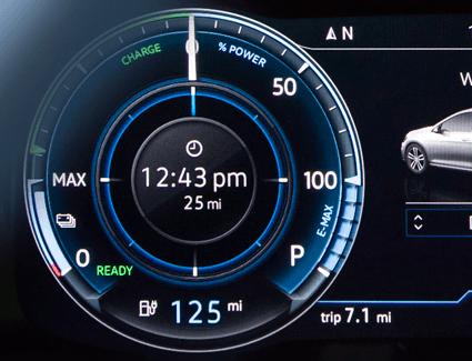 2018 VW e-Golf's Performance