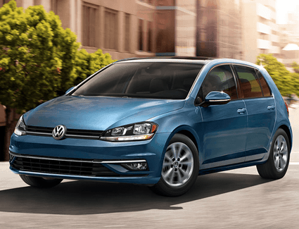 2018 VW Golf's Exterior