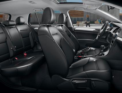 2018 VW Golf Golf's Interior