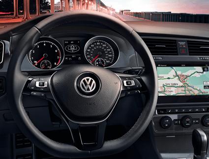 2018 VW Golf AllTrack's Interior