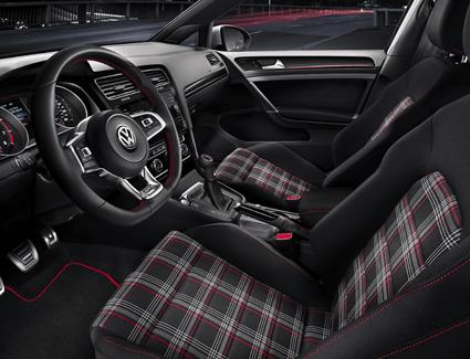 2018 VW Golf GTI's Interior