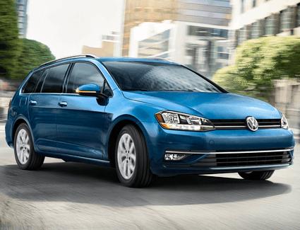2018 VW Golf AllTrack's Exterior