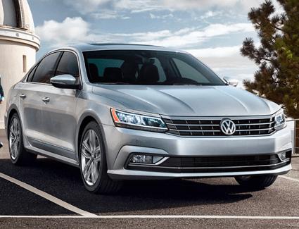 2018 VW Passat's Exterior