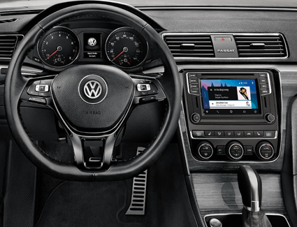 2018 VW Passat's Interior