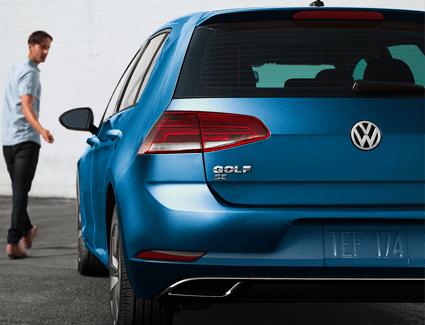 2019 VW Golf's Exterior