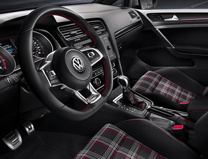 2019 VW Golf GTI's Interior