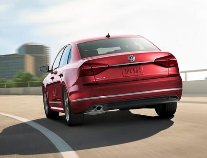 2019 VW Passat's Exterior