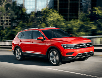 2019 VW Tiguan's Exterior