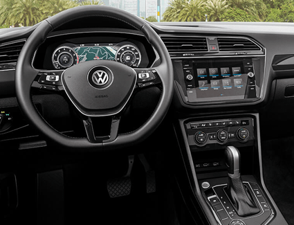 2019 VW Tiguan's Interior