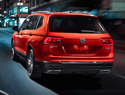 2019 VW Tiguan's Performance