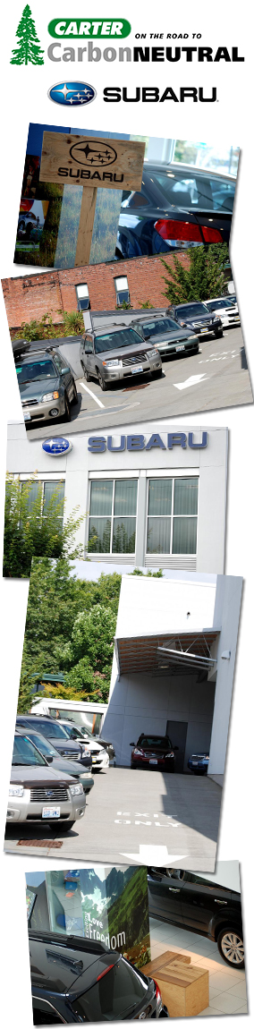 Seattle Subaru parts, accessories and chemicals at Carter Subaru Ballard