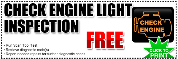 Free Check Engine Light Diagnostic At Frank Hyundai In San Diego, California Gallery