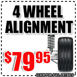 Hyundai 4 Wheel Alignment Service Special, Car Maintenance Discount Coupon in San Diego, California