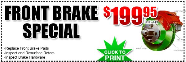 Hyundai Front Brake Service Special Frank Hyundai