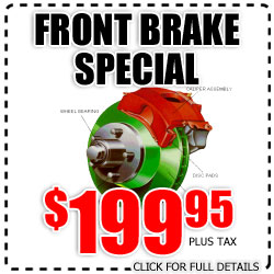hyundai, front brakes, brakes, special, discount tires, national city, california