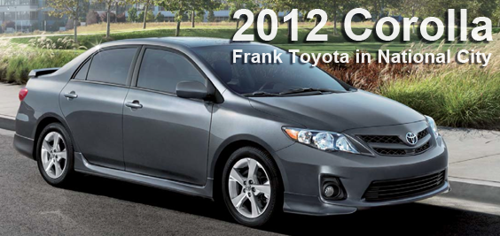 2012 Toyota Corolla Information, Details, Specs In California