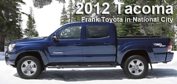 2012 toyota tacoma details & information | san diego county, ca new
