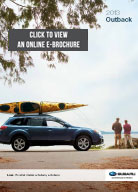 2013 Subaru Outback Sports Coupe Digital Brochure Download