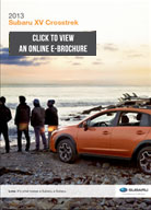 2013 Subaru XV Sports Coupe Digital Brochure Download