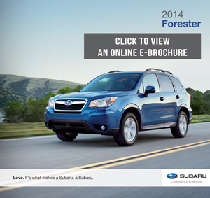 Download a 2014 Subaru Forester Brochure