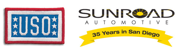 Sunroad Automotive USO Donation Event