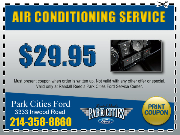 Park cities ford service reviews for Ford motor service coupons