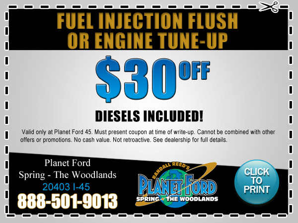 Planet Ford 45 Fuel Injection Flush Houston Or Engine Tune