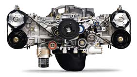 Subaru's 2.5i Turbo Charged Boxer Engine