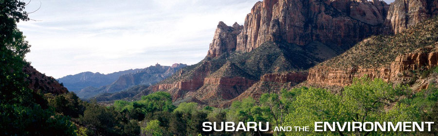 Subaru and the Environment, Utah Landscape