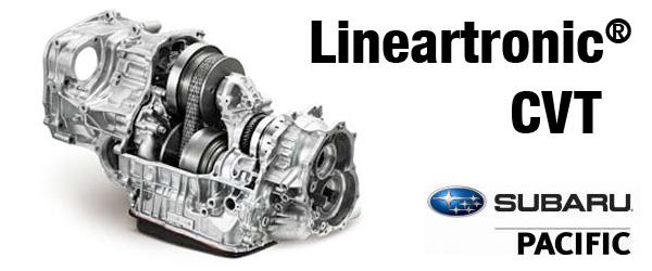 subaru lineartronic cvt automatic transmission