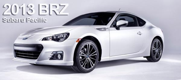2013 Subaru BRZ Order Form