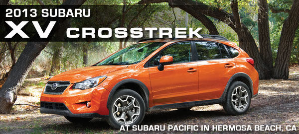 New 2013 Subaru XV Crosstrek Model Information, Details & Specifications serving Hermosa Beach, Torrance, California