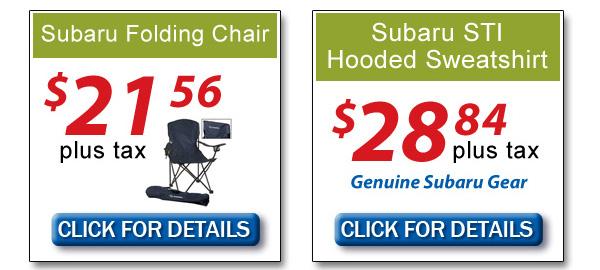 Los Angeles Subaru Parts Specials | Genuine Parts
