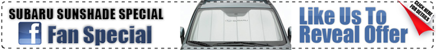 Renick Subaru Sunshade Facebook Discount Coupon Special