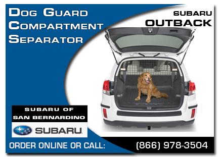Genuine Subaru Outback Accessories San Bernardino