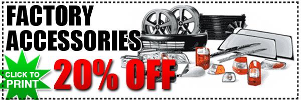 Subaru OEM Accessories Special | San Bernardino Genuine
