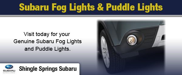 Subaru Fog Light Kit And Puddle Lights Shingle Springs