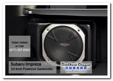 Medford, subaru, subwoofer, 10 inch, impreza, accessories, parts, specials
