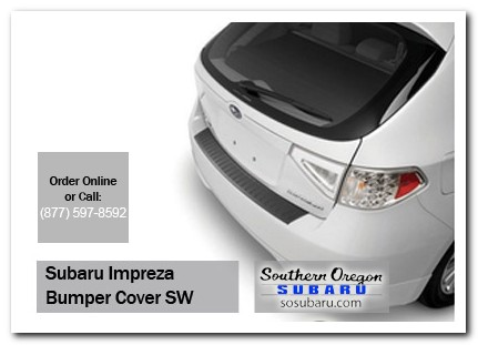 Medford, subaru, rear bumper cover, impreza, accessories, parts, specials