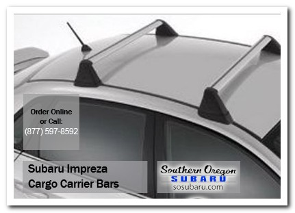 Medford, subaru, roof carrier bars, impreza, accessories, parts, specials