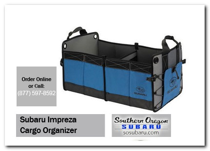 Medford, subaru, cargo organizer, impreza, accessories, parts, specials