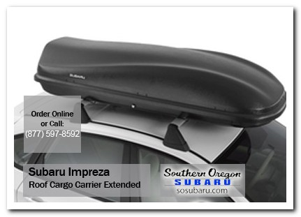 Medford, subaru, roof cargo carrier, extended, impreza, accessories, parts, specials