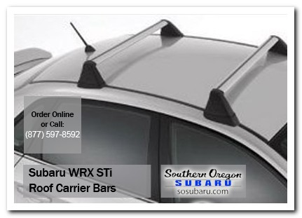 Medford, subaru, roof carrier bars, wrx / sti, accessories, parts, specials