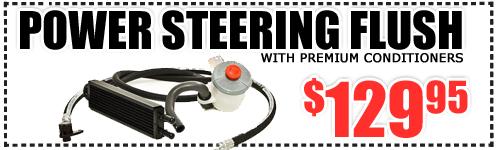 Subaru Power Steering Flush Discount Coupon Denver Service