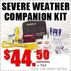 Subaru Severe Weather Companion Kit Tucson, Arizona