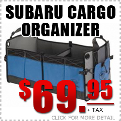 Genuine Subaru Cargo Organizer Parts Discount Special Coupon serving Tucson, Arizona