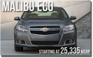 New 2013 Chevy Malibu ECO at Wentworth Chevrolet Portland, Oregon City, Vancouver WA, Beaverton, Gresham, OR