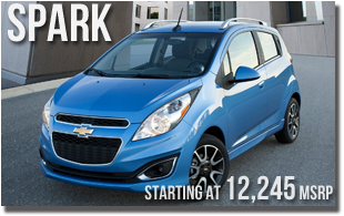 New 2013 Chevy Spark at Wentworth Chevrolet Portland, Oregon City, Vancouver WA, Beaverton, Gresham, OR